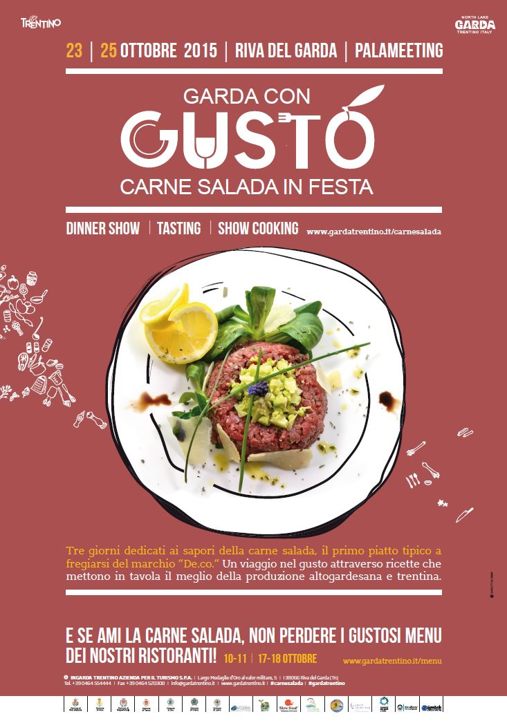 Manifesto ufficiale carne salada in festa