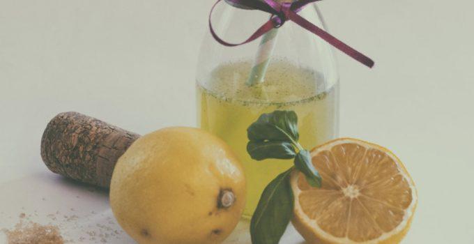 Aperitivo al limone e basilico