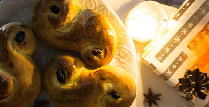 Lussekatter: i dolci svedesi di Santa Lucia