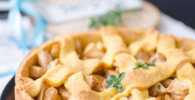 Crostata di mele senza burro